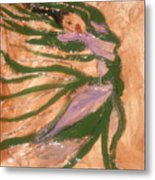 Dancing - Tile Metal Print