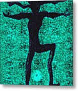 Dancing At The Creation Of The Green Earth Metal Print