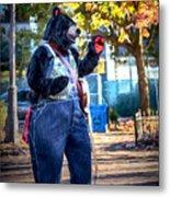 Banjo Beary In Pritchard Park Metal Print