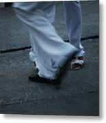 Dancing Feet At The Dominican Republic Son Party Number Three Metal Print