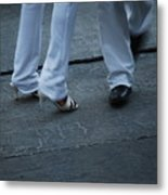 Dancing Feet At The Dominican Republic Son Party Number Two Metal Print