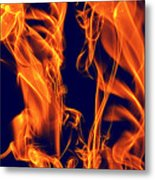 Dancing Fire I Metal Print