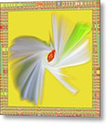 Dancing Flower Trio Metal Print