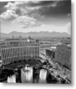 Dancing Fountains Metal Print