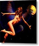 Dancing In Space Metal Print