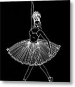 Dancing In The Dark Metal Print