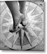 Dancing In The Right Direction Metal Print