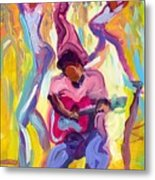 Dancing In The Streets Metal Print