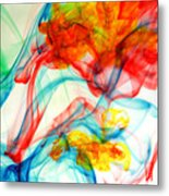 Dancing In Water Metal Print
