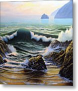 Dancing Tide Metal Print