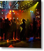 Dancing To The Music Metal Print