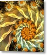 Dancing With Daisies Metal Print