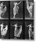 Dancing Woman Metal Print