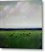 Dandelion Pastures Metal Print by Toni Grote