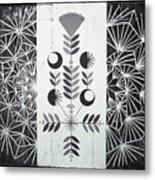 Dandelion Puff Metal Print