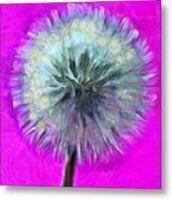 Dandelion Spirit Metal Print