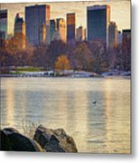 Danger - Thin Ice Metal Print