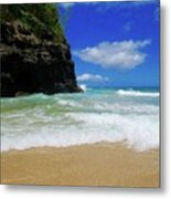 Dangerous Yet Beautiful Kauai Metal Print