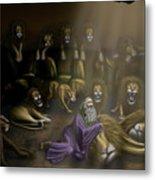 Daniel And The Lions Den Metal Print