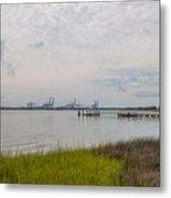 Daniel Island Commerce View Metal Print