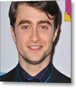 Daniel Radcliffe At Arrivals For Only Metal Print by Everett