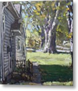 Daniel's House In Bloomington Mn Metal Print