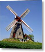Danish Windmill Metal Print