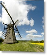 Danish Windmill Metal Print