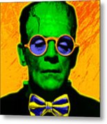 Dapper Monster Metal Print