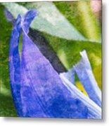 Dappled Petals Metal Print