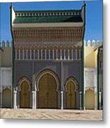 Dar-el-makhzen The Royal Palace Metal Print