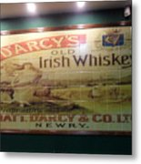 D'arcy's Old Irish Whiskey Metal Print