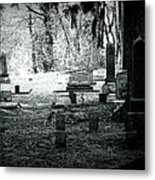 Dark As The Grave Metal Print