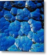 Dark Blue Metal Print