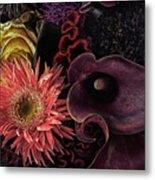 Dark Bouquet Metal Print