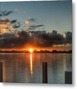 Dark Clouds Horizontal Metal Print