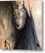 Dark Deliberation Metal Print