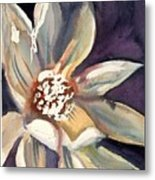 Dark Flower Metal Print