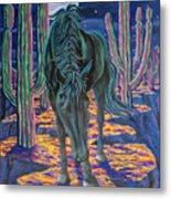 Dark Horse Metal Print