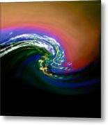 Dark Matter Collides Metal Print