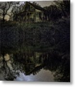Dark Reflection Metal Print