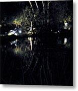 Dark Reflections Metal Print