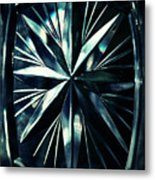 Dark Star On A Glass Scale Metal Print