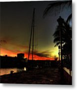 Dark Sunlight Metal Print