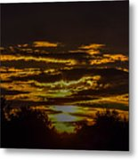Dark Sunrise Metal Print