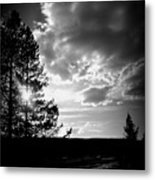Dark Sunset Metal Print by Carrie Putz
