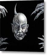Dark Transformation Metal Print