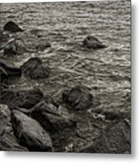 Dark Water Metal Print