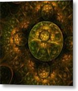 Darkness Looms Metal Print