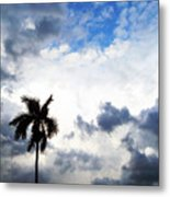 Darkness Moving In Metal Print